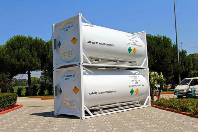 Танк Контейнер 20 футов для СПГ (LNG)