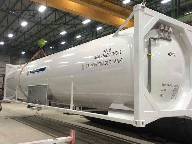 Танк Контейнер 40 футов для СПГ (LNG)